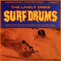 The Lively Ones - Surf Drums