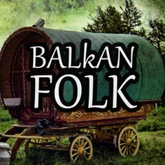 Traditional balkan folk music