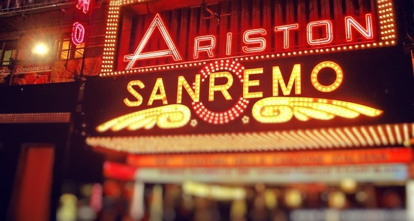 The italian song, the Festival of Sanremo